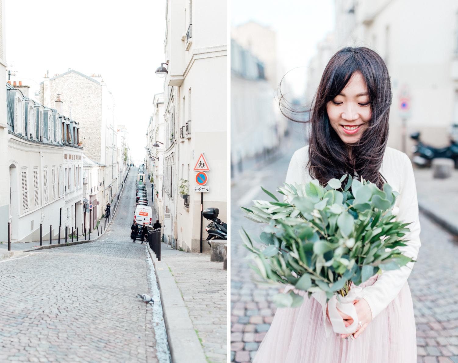 Paris photographer, Portrait session Montmartre, Elopement photographer Paris