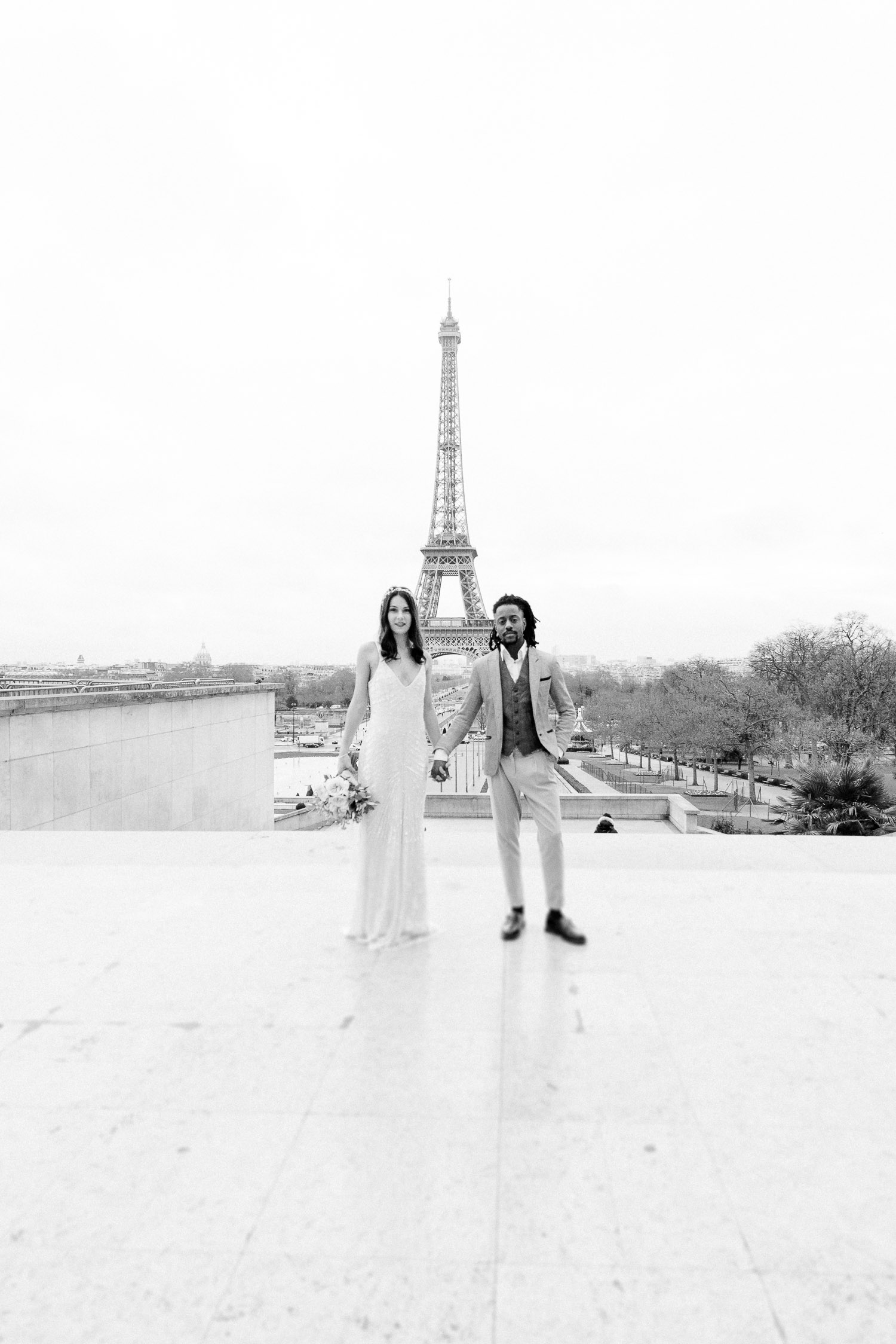 Paris elopement photographer, Hochzeitsfotos in Paris